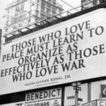 Those who love peace …