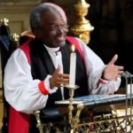 American Bishop Michael Curry, the first African American primate of the Episcop...