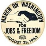 March on Washington 1963. MLK, Jr. would be so sad to see how the civil rights m…