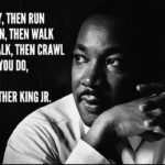 Happy MLK Jr  Day. Reflect on the past,your present  your future. Never, ever ta...