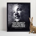 Martin Luther King Jr Quote – Motivational Wall Art Motivational Wall Decor Prin…