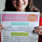 New Year's Resolutions and Year in Review for Kids – fill in the blanks and keep…
