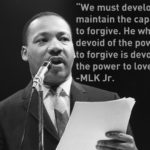 The US clergyman and civil rights leader Dr. Martin Luther King, Jr. on the impo…
