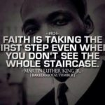 Dr. Martin Luther King Jr. Quote on Faith