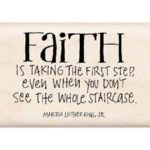Inkadinkado-faith is stamp~ love to stamp and love the message :)