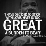 A Great Martin Luther King quote on his day.  At this time in American history w…