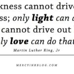 Darkness cannot drive out darkness… Martin Luther King, Jr quote on love and l…