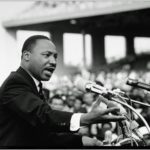 Dr. Martin Luther King, Jr. -16 x 20 Photo on a Gallery Wrapped Stretched Canvas