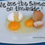 Martin Luther King Activity: Egg Activity- What are ways you talk about diversit…
