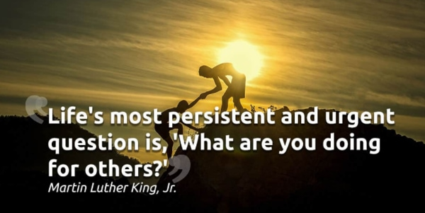quotes on leadership Life's most persistent