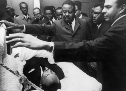 MLK assassination images