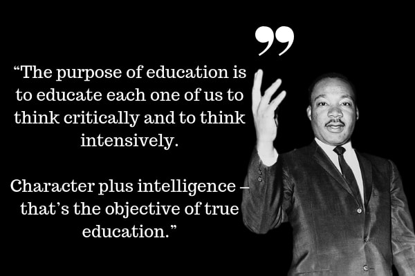 education quotes of Martin Luther King Jr