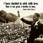 Martin Luther King Jr. quote on love.