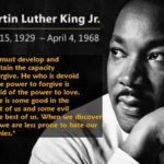 Martin Luther King Jr. Quotes | Martin Luther King, Jr.'s Quote On Forgivene...